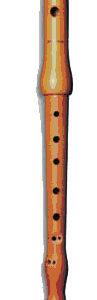 MOLLENHAUER FIFE piccolo C körte barokk, dupla lyukkal