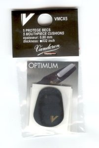 VANDOREN FOGVÉDŐ 0,8 mm / 5 db    fekete