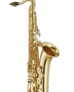 Montesinos SZAXOFON, Bb, tenor, arany lakozott, fúvóka, tok