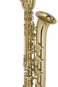Montesinos SZAXOFON, Bb, bariton, arany lakozott, fúvóka, tok