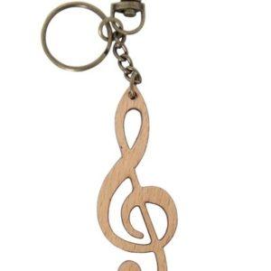 GEWA fa violinkulcs kulcstartó